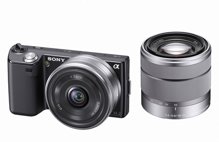 Sony NEX-5 Ultra-Compact DSLR with interchangeable lenses