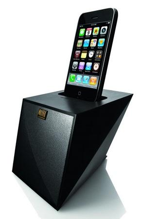 Altec Lansing Octiv Mini M102 iPod iPhone Speaker Dock with iphone