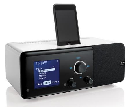 Cue Acoustics Cue Radio Model r1 iPod Dock