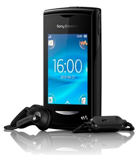 Sony Ericsson Yendo Touchscreen Walkman Phone with headset