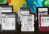 Copia Ocean and Tidal e-book readers