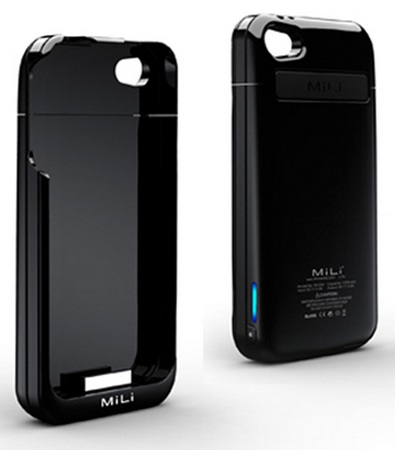 MiLi Power Spring 4 HI-C23 Battery Case for iPhone 4