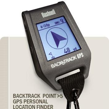 Bushnell BackTrack Point 5 GPS Device