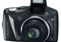 Canon PowerShot SX130 IS 12x Ultra Zoom Camera flash