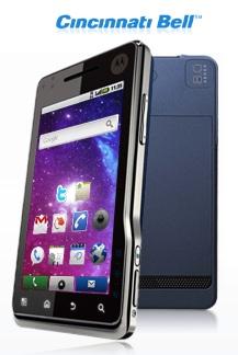 Cincinnati Bell Motorola XT720 Android Smartphone