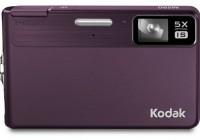 Kodak EasyShare M590 - Thinnest 5x Optical Zoom Camera purple front