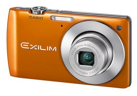 Casio EXILIM Card EX-S200 Digital Camera with Single Frame SR Zoom orange