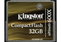 Kingston CompactFlash Ultimate 600x Memory Card for High-end DSLRs