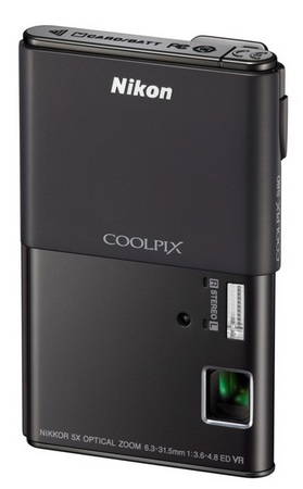 Nikon CoolPix S80 Camera with OLED Touchscreen black