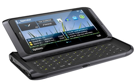Nokia E7-00 Symbian^3 Phone with QWERTY black