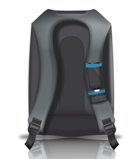 Quirky Trek Support Backpack with Integrated Battery ...
