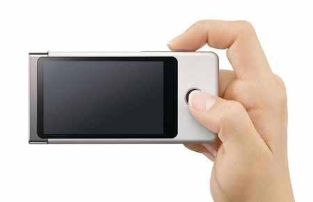 Sony Bloggie Touch MHS-TS20 and MHS-TS10 Pocket Full HD Camcorder screen