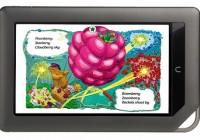 Barnes & Noble NOOKcolor e-book reader with color touchscreen landscape