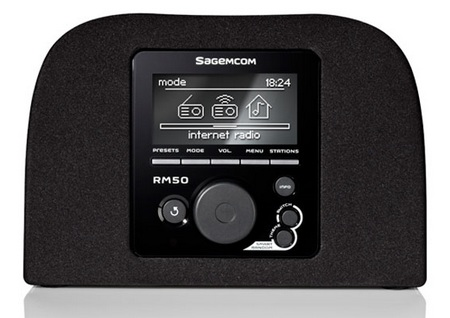 Sagemcom RM50 Internet Radio 1