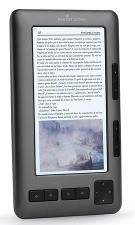 Energy Sistem Color Book 5-inch Color E-book Reader dark iron