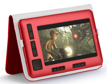 Energy Sistem Color Book 5-inch Color E-book Reader red