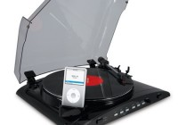 ION Audio iPROFILE Turntable with Direct-to-iPod Transfer