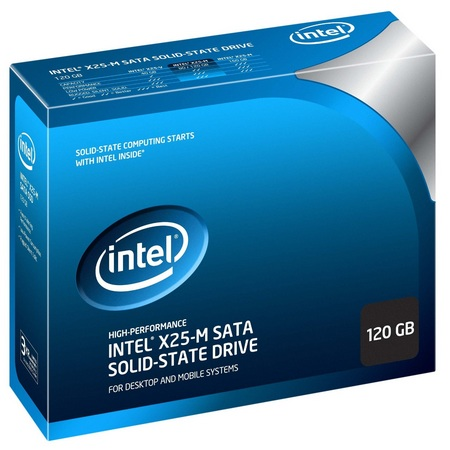 Intel X25-M G2 series SSD package