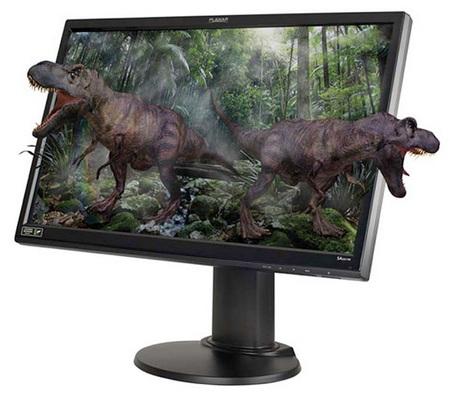 Planar SA2311W 3D Vision LCD Monitor