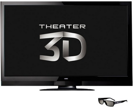 Vizio XVT3D650SV 65-inch Theater 3D Razor LED HDTV 1