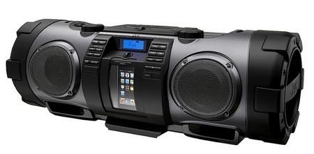 JVC RV-NB70 Kaboom! Portable Audio Boombox black