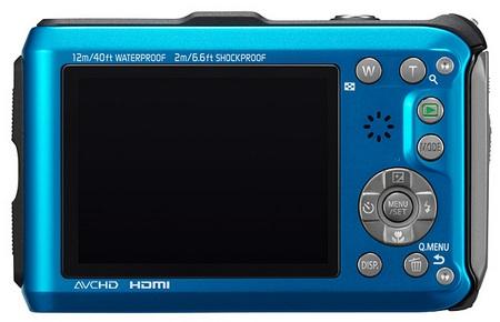 Panasonic LUMIX DMC-TS3 Rugged Digital Camera back