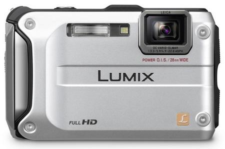 Panasonic LUMIX DMC-TS3 Rugged Digital Camera silver