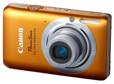 Canon PowerShot ELPH 100 HS Digital Camera orange