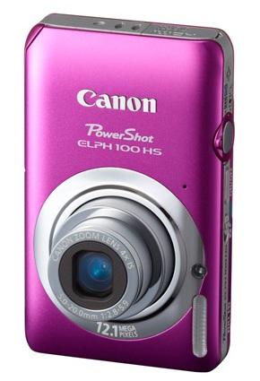Canon PowerShot ELPH 100 HS Digital Camera pink