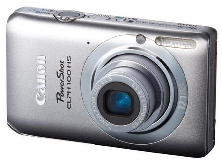 Canon PowerShot ELPH 100 HS Digital Camera silver
