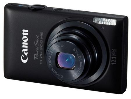 Canon PowerShot ELPH 300 HS digital camera black