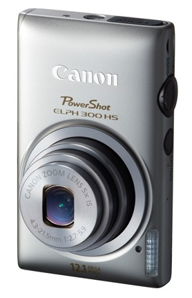Canon PowerShot ELPH 300 HS digital camera silver