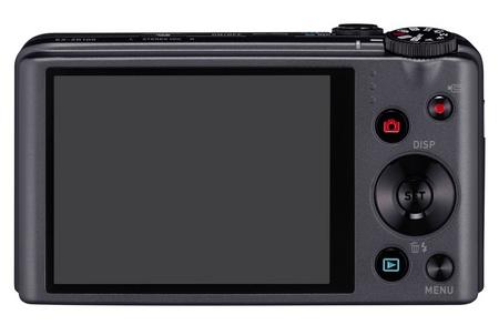 Casio Exilim EX-ZR100 Digicam with 12.5x Optical Zoom back