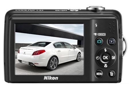 Nikon CoolPix L23 Digital Camera back