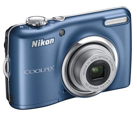 Nikon CoolPix L23 Digital Camera blue