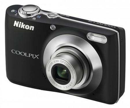 Nikon CoolPix L24 digital camera black