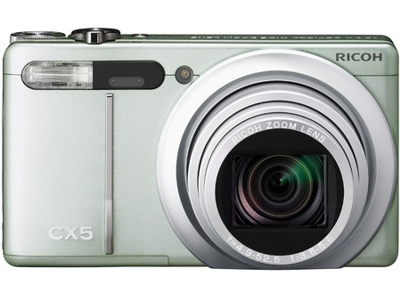 Ricoh CX5 Digital Camera with Hybrid AF System and 10.7x ...