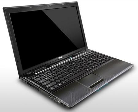 MSI CR650 AMD-powered Notebook