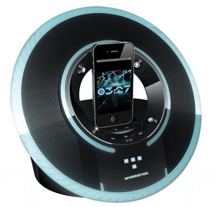 Monster TRON Light Disc Speaker Dock for iPhone and iPod