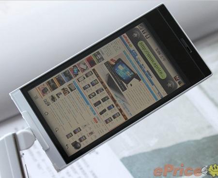 Sharp SH7218U Clamshell Android Phone rotating display