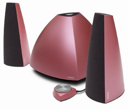 Edifier Prisma E3350 2.1-Channel Speaker System metallic mauve