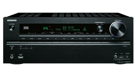 Onkyo TX-NR709 AV Receiver with Network Connectivity