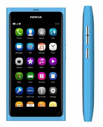 Nokia N9 MeeGo Smartphone Cyan