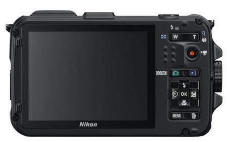 Nikon CoolPix AW100 Rugged Digital Camera back