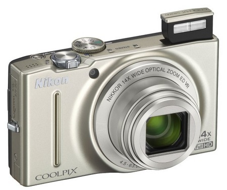Nikon CoolPix S8200 Compact Camera with 14x Optical Zoom silver