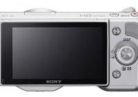 Sony NEX-5N Compact Interchangeable Lens Camera back