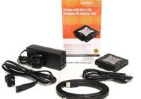 StarTech SATDUPUE Portable SATA Hard Drive Duplicator items included