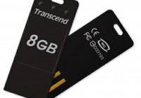 Transcend JetFlash T3 Tiny USB Flash Drive black