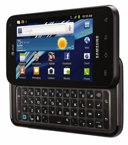 AT&T Samsung Captivate Glide QWERTY Android Phone