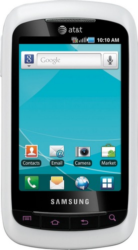 AT&T Samsung DoubleTime Flip-style Dual-screen QWERTY Smartphone 1